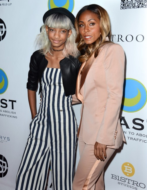Willow Smith et Jada Pinkett-Smith le 9 mai 2013 à Los Angeles