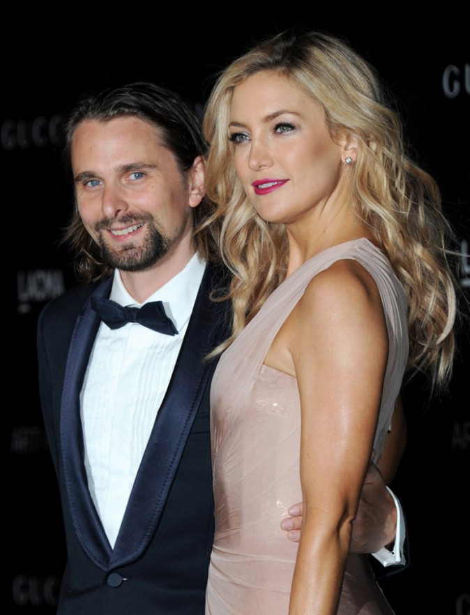 Matthew Bellamy & Kate Hudson
