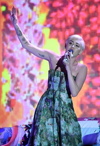 Miley Cyrus à Monte-Carlo le 27 mai 2014