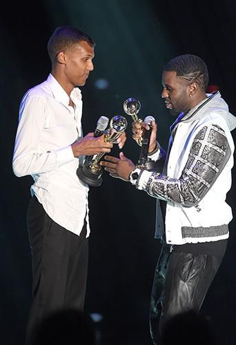Stromae et Jason Derulo à Monte-Carlo le 27 mai 2014