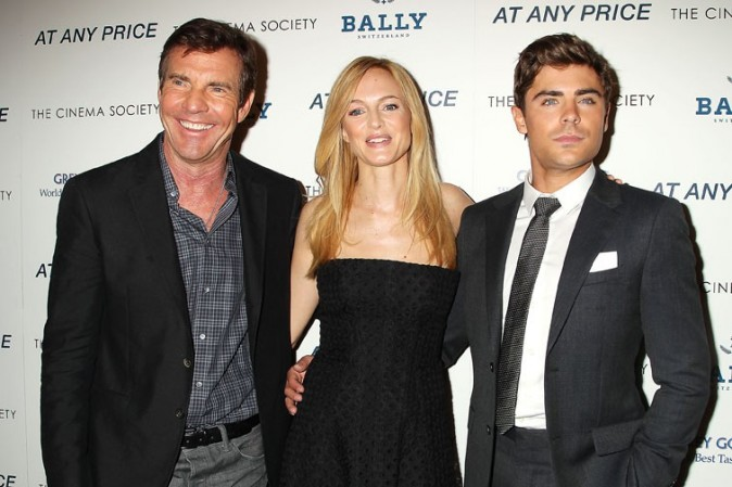 Heather Graham et Zac Efron à l'avant-première d'Ay Any Price à New-York le 18 avril 2013