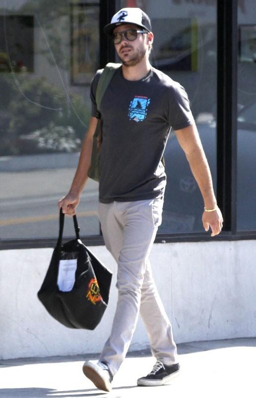 L'acteur a été aperçu dans les rues de West Hollywood