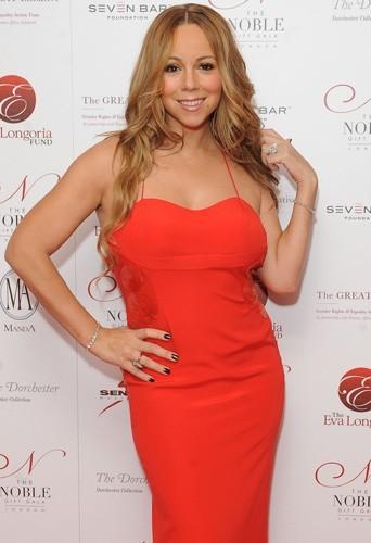 Mariah affiche une silhouette plus svelte