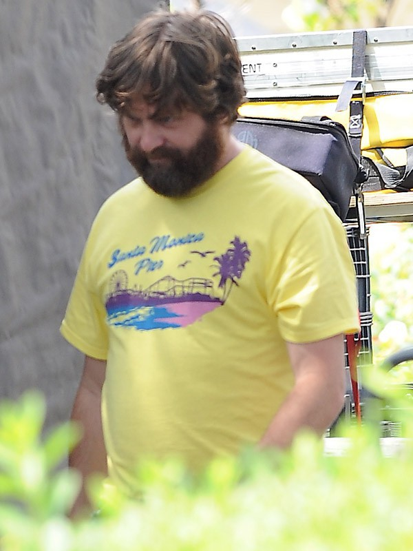 Zach Galifianakis avant