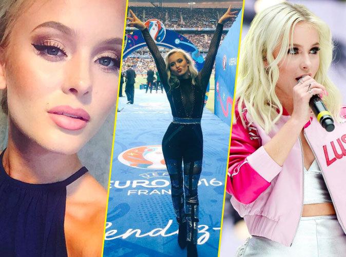 Zara Larsson: Focus sur la bombe su�doise qui chante l'hymne officiel de l'Euro 2016 !