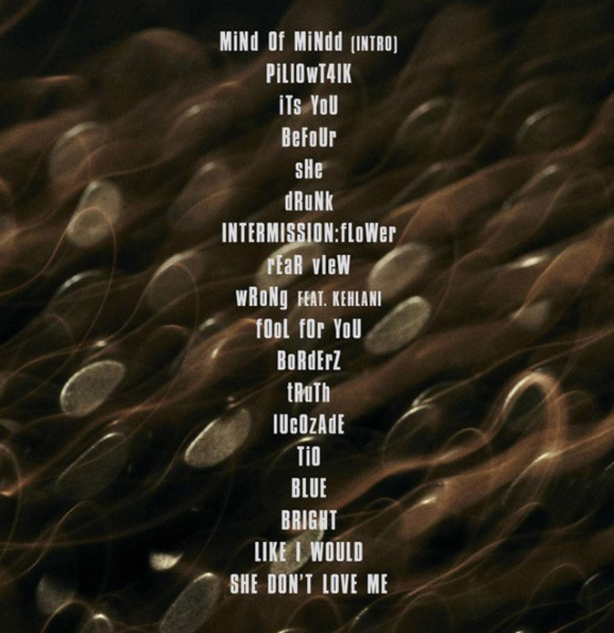 La tracklist de Mind of Mine