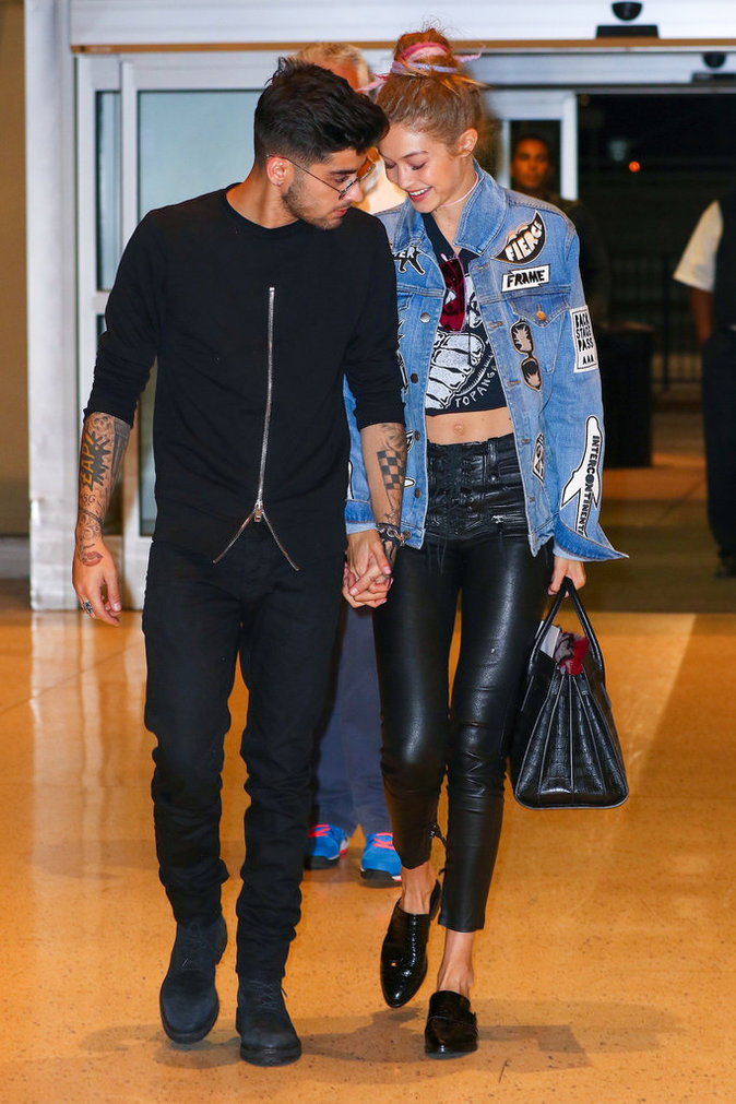 Zayn Malik et Gigi Hadid s'affichent toujours très souriants ensemble
