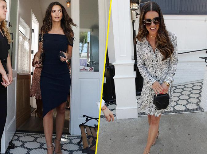 Emily Ratajkowski, Lea Michele : belles de jour pour le déjeuner Glamour !