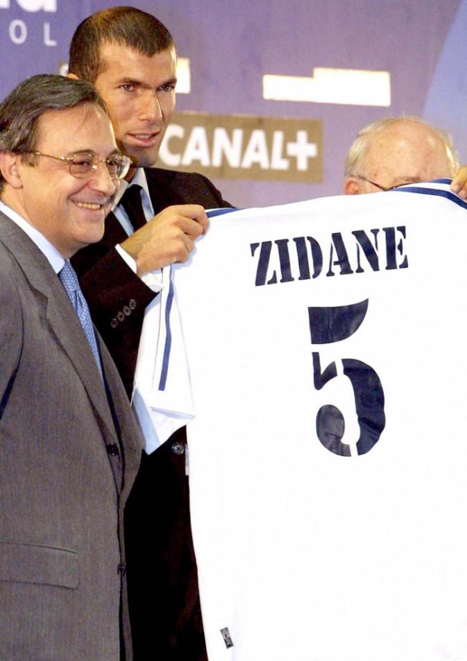 Zidane rejoint David Beckham et les galactiques de Madrid