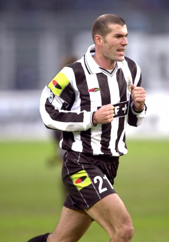 Zizou sous les couleurs de la Juventus de Turin