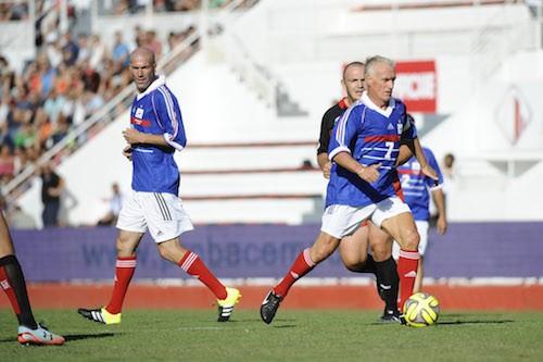 Photos : Zinedine Zidane reprend du service !