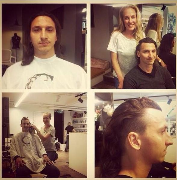 Zlatan Ibrahimovic est passé en mode side hair !