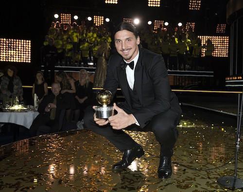 Photos : Zlatan Ibrahimovic : récompensé, amoureux mais toujours blessé…