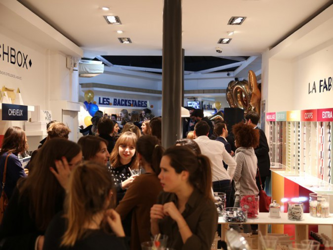 Inauguration de la boutique Birchbox