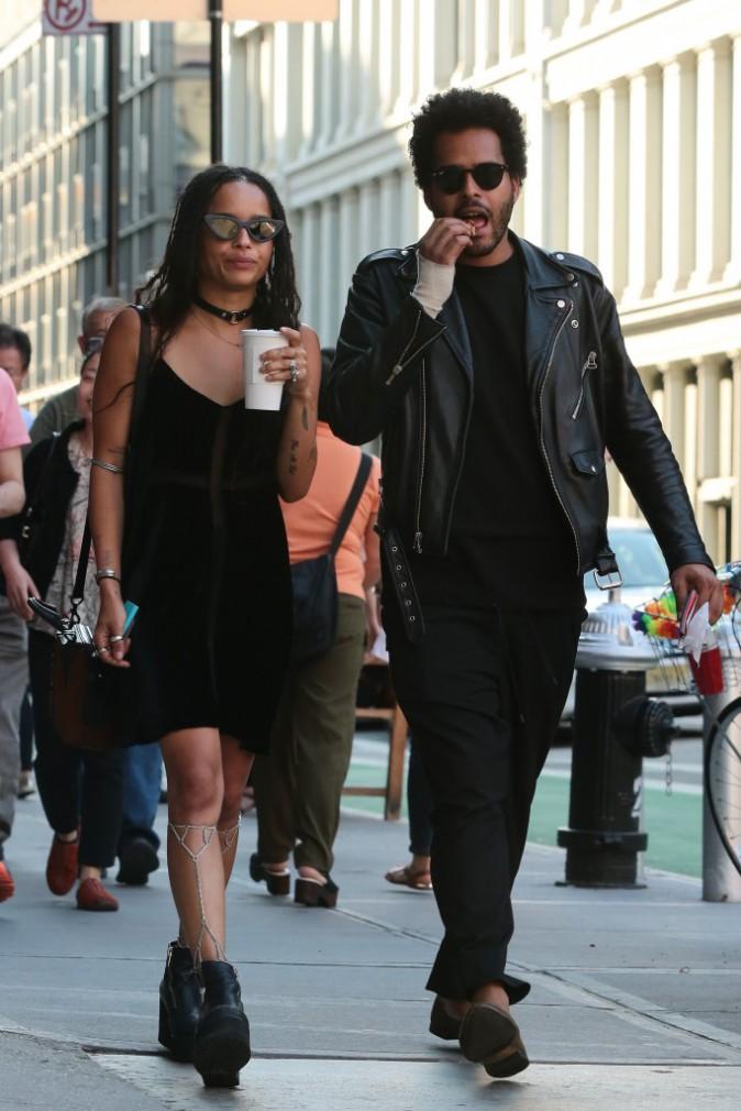 Zoë Kravitz et son boyfriend