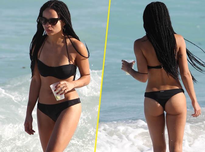 Zoe Kravitz : super sexy le petit bikini !