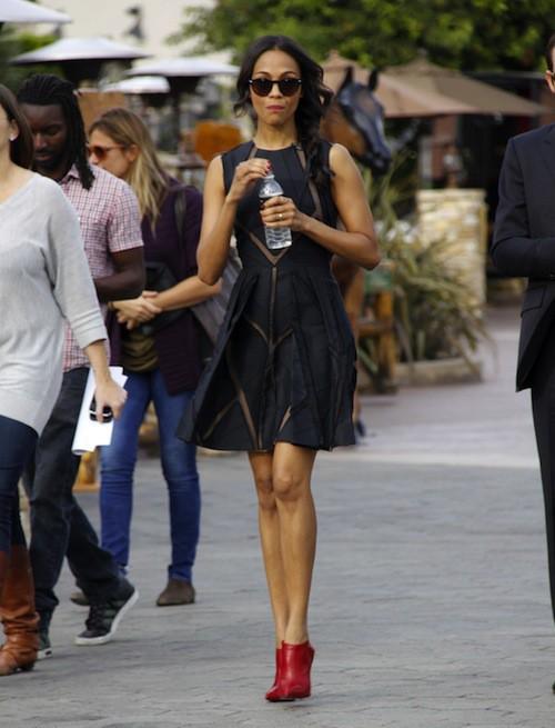 Photos : Zoe Saldana : discrète depuis son mariage secret, l'actrice s'éclate enfin !