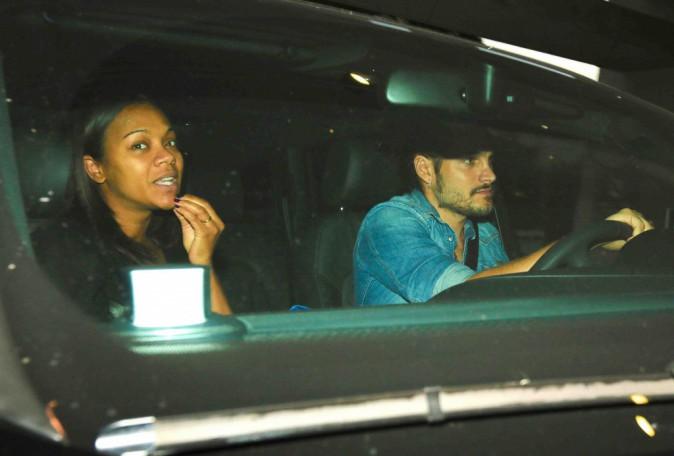 Zoe Saldana et Marco Perego : ils sont arrivés à l'hôpital, plus que quelques heures et ils seront parents !