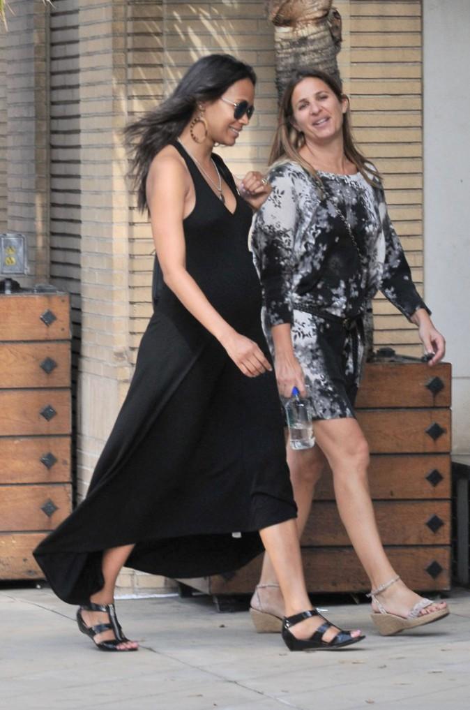 Photos : Zoe Saldana : l'actrice enceinte évoque sa vie sexuelle !