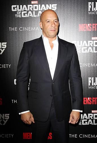 Vin Diesel à New York le 29 juillet 2014