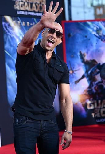 Vin Diesel à Los Angeles le 21 juillet 2014