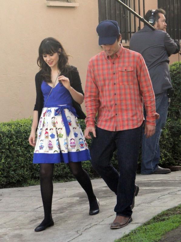 Zooey Deschanel le 4 décembre 2012 à West Hollywood