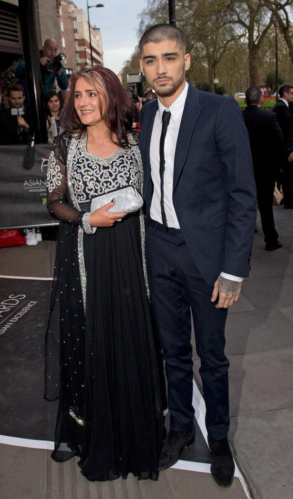 Zyan Malik et sa mère