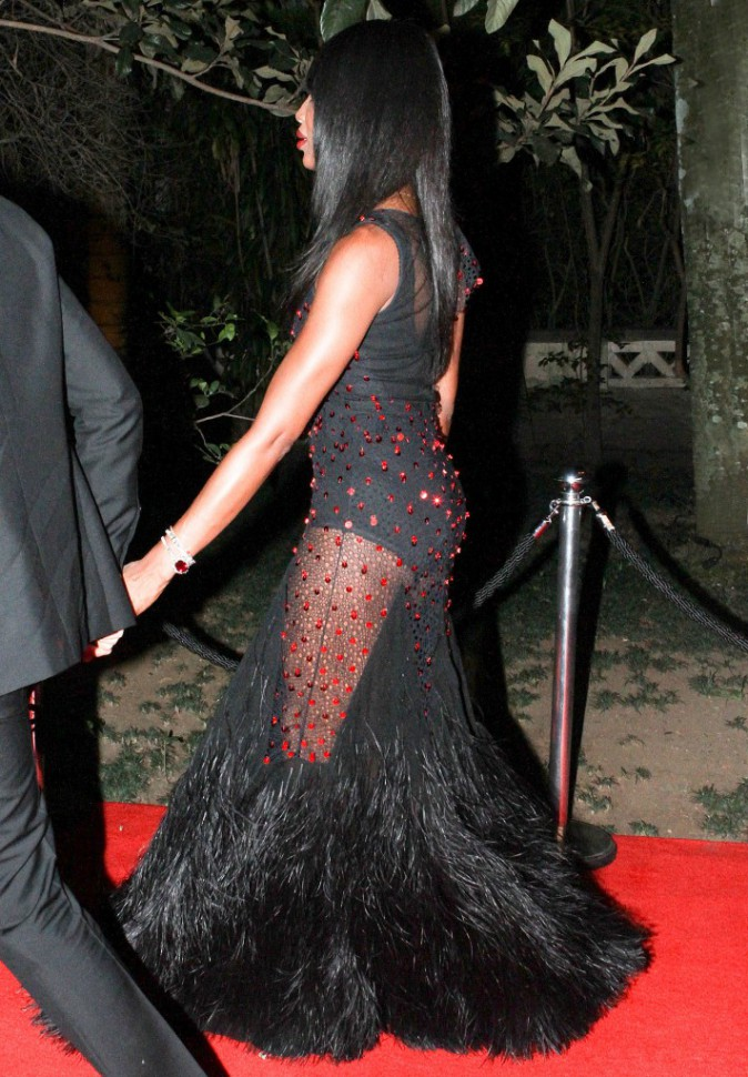 Naomi Campbell le 10 avril 2015