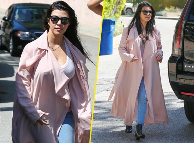 Kourtney Kardashian le 19 mars 2015