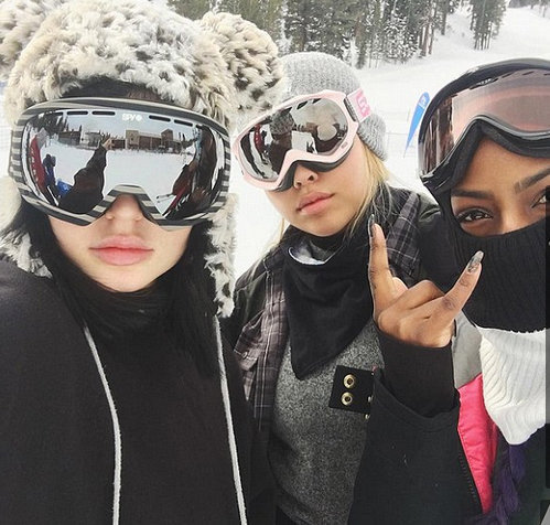 Kylie Jenner s'éclate avec ses amies !