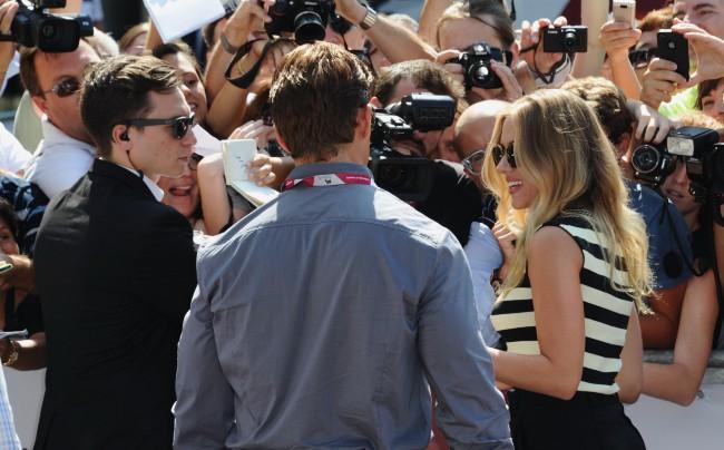 Scarlett Johansson en promo à Venise, le 3 septembre 2013.