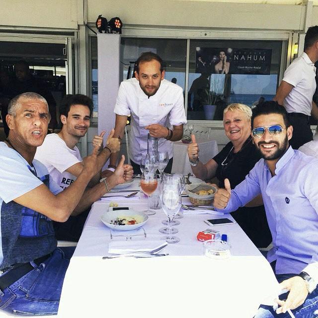 Tout le gratin l'a testé : déjeuner entre amis pour Samy Naceri.
