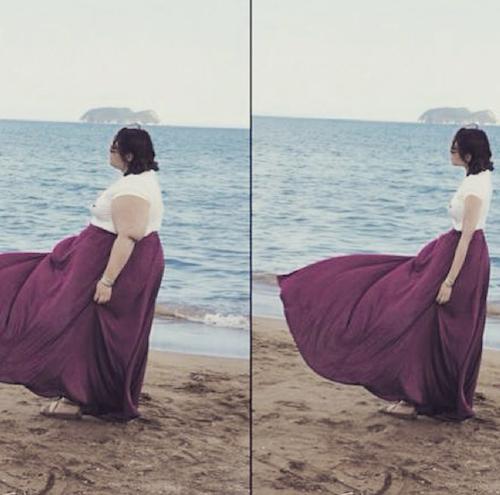 Public Buzz : Photos : l'Instagram de la honte : ils photoshopent les gens qu'ils jugent trop gros !