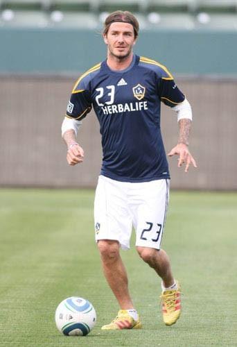 David Beckham, le footballeur le mieux payé de la planète!