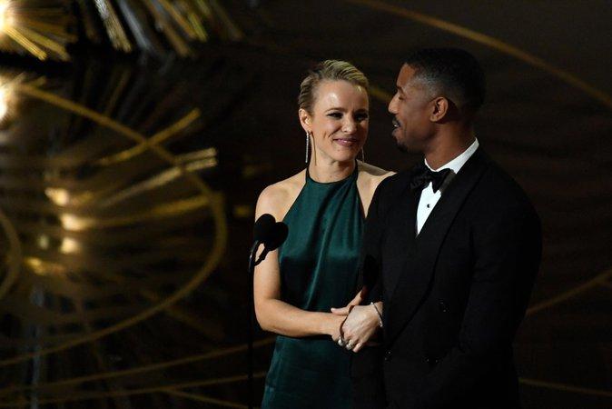 Rachel McAdams a remis un prix aux côtés de Michael B Jordan
