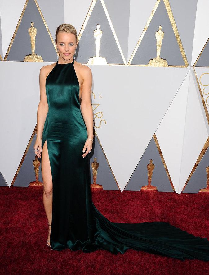 Rachel McAdams, glamour chic aux Oscars 2016