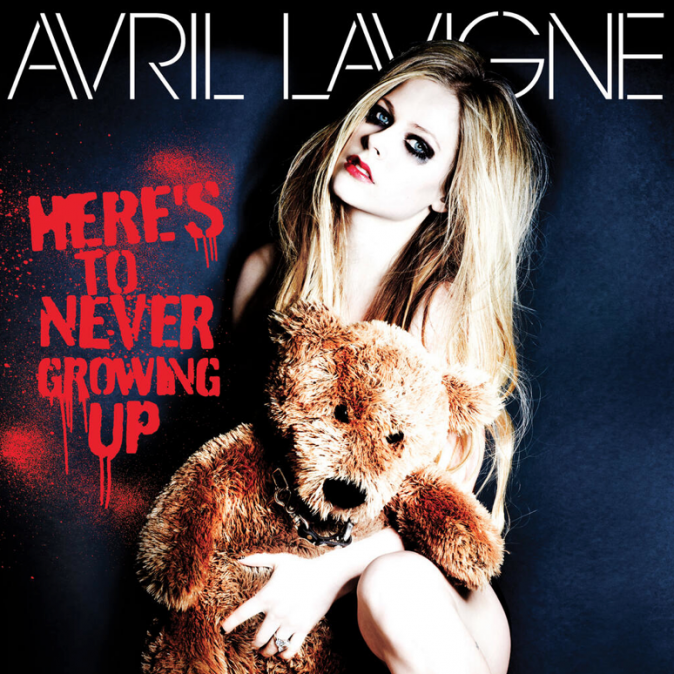 Il s'agt de la chanteuse Avril Lavigne !