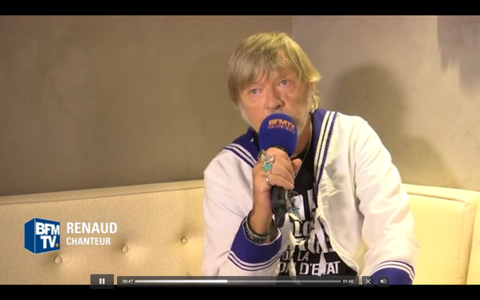 Renaud très ému...Découvrez pourquoi !