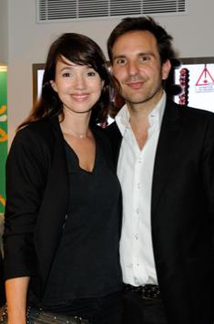 Delphine McCarty et Christophe Michalak