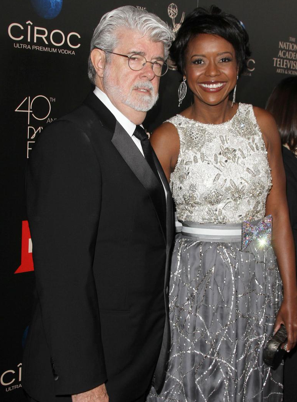 George Lucas et Mellody Hobson