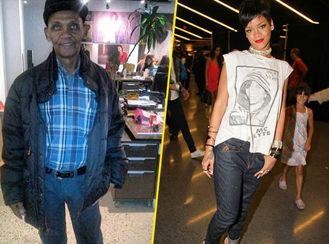 Rihanna : après sa mère, voici son grand-père !