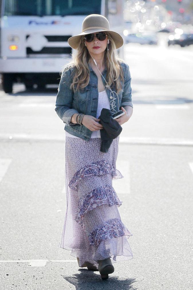 Sarah Michelle Gellar et sa veste en jean