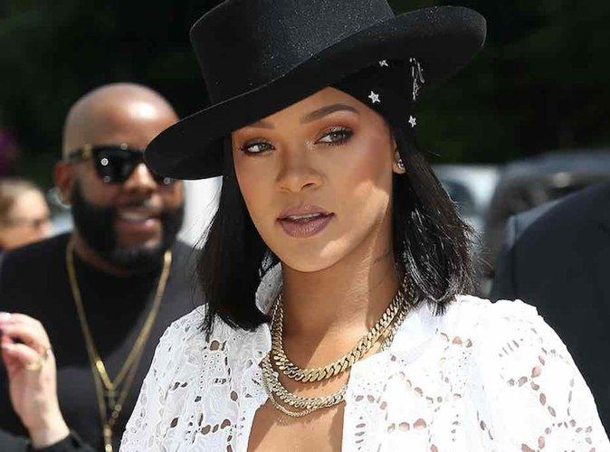 Rihanna : Bombe en blanc pour la cérémonie LVMH Prize 2017 !