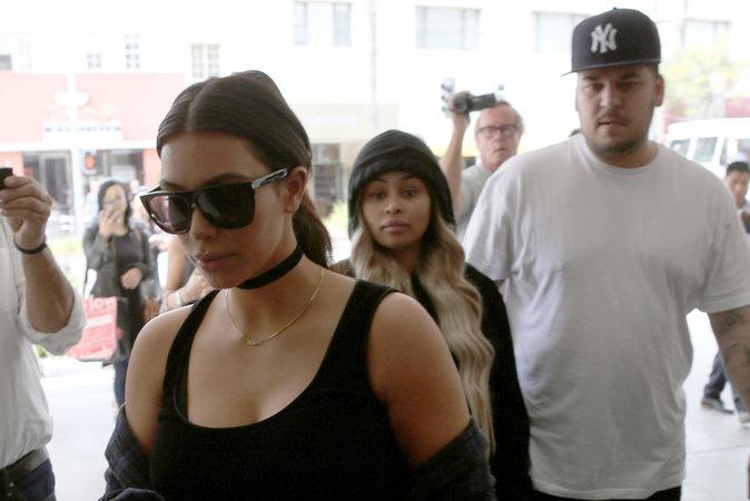 Les Kardashians à Beverly Hills, le 26/04/2016