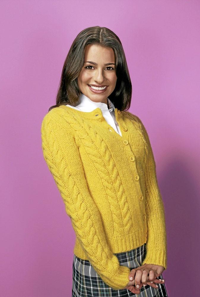 Série : Glee : Lea Michele a l'air sage comme ça...