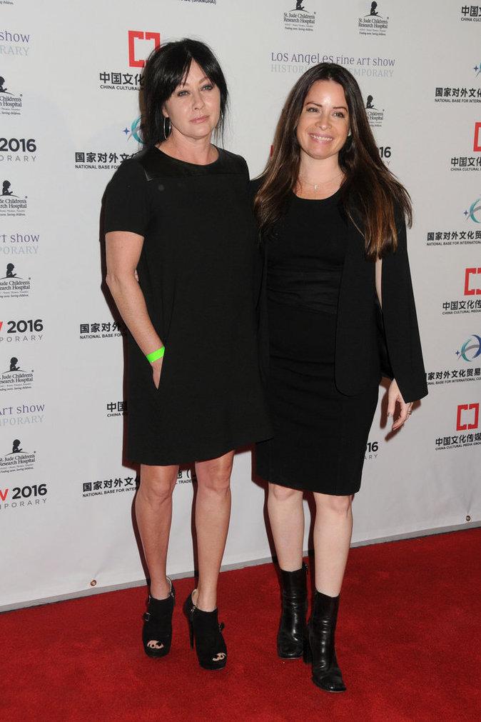 Shannen Doherty et Holly Marie Combs se sont retrouvées aux LA Art Show !