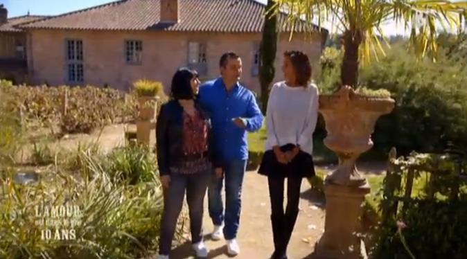 Karine avec Pierre et Frédérique