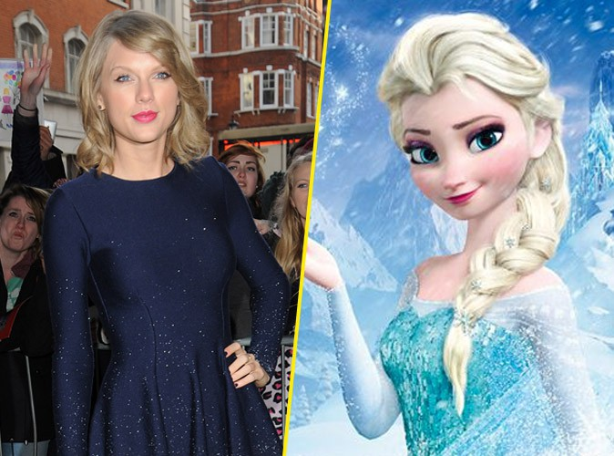 Taylor Swift : artiste la plus vendeuse... Derri�re la Reine des neiges !
