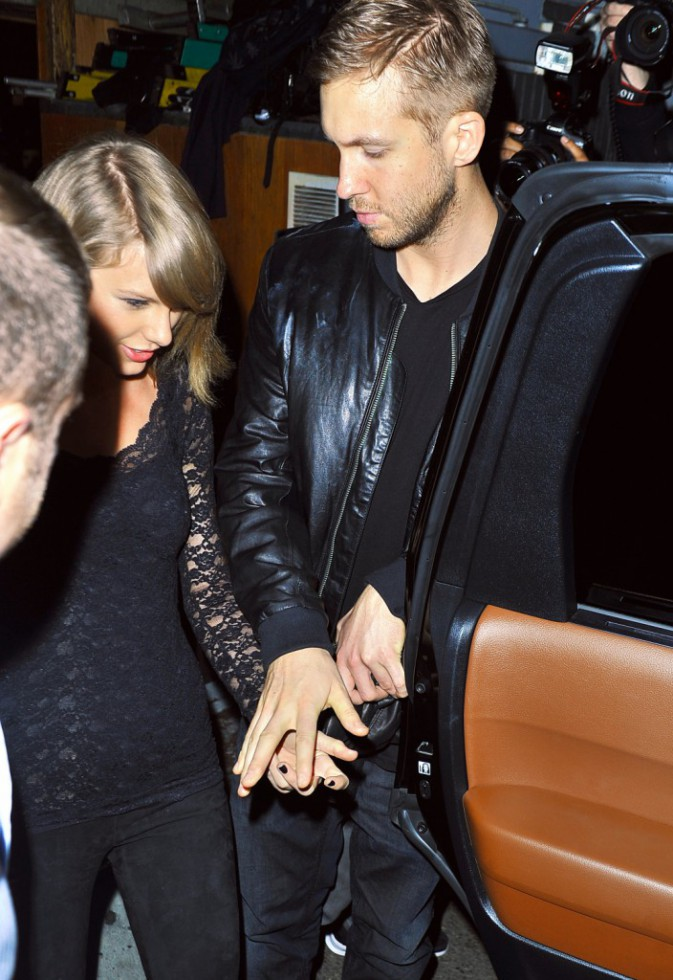 Photos : Taylor Swift : elle ne quitte plus Calvin Harris !