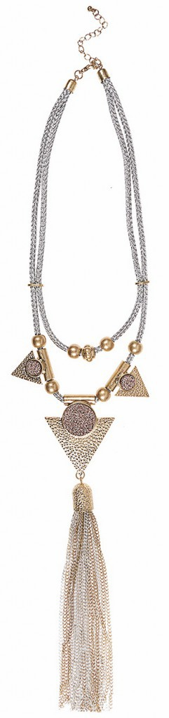 Collier à pampille, New Look 11,99 €